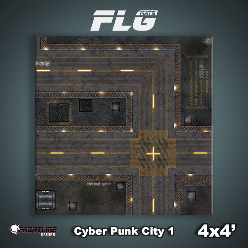 4x4 Cyber Punk City 1 WC