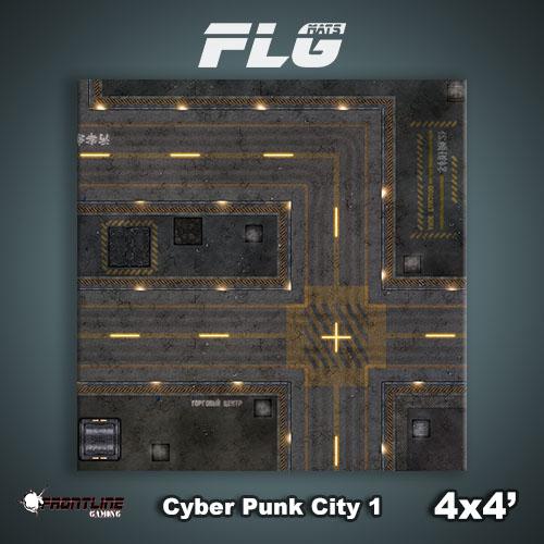 4x4 Cyber Punk City 1 WC