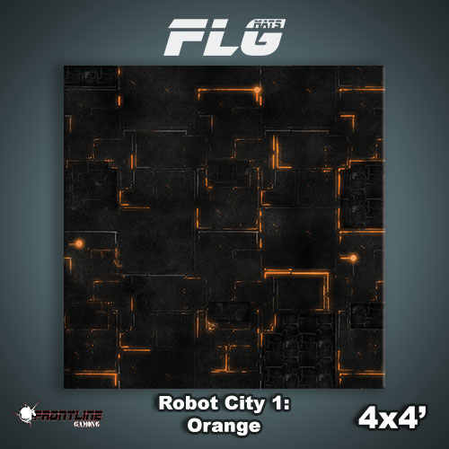 4x4 Robot City 1- Orange