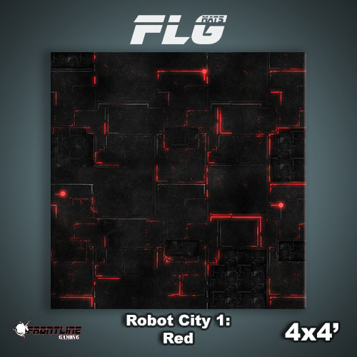 4x4 Robot City 1- Red