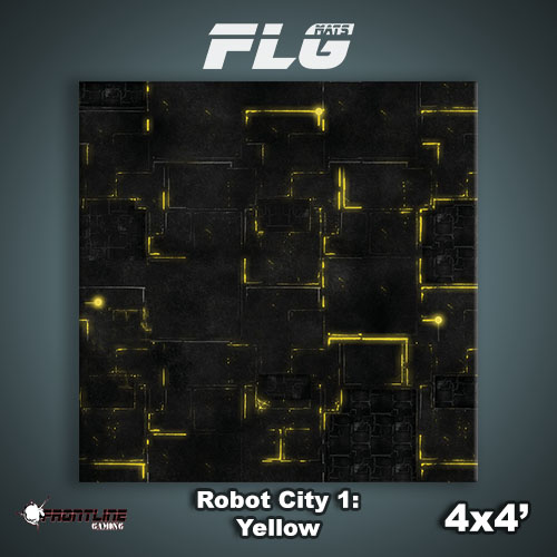 4x4 Robot City 1-Yellow