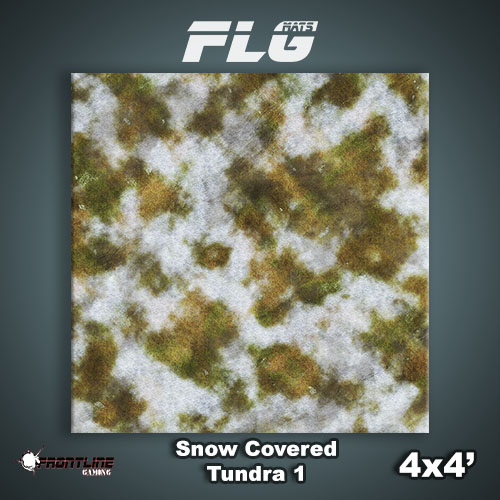 4x4 Snow Covered Tundra 1