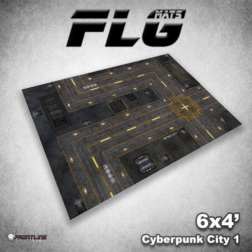 500x500 Cyberpunk City 1