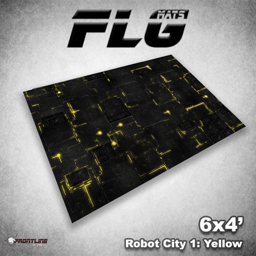 500x500 Robot City 1- Yellow