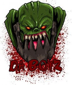 DaBoyz GT Logo front facing