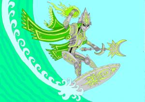 surfing_necron_by_lovgreno-d4oyns7