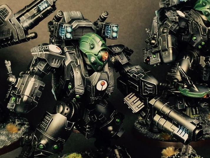Tau Codex Review: Elites: XV-95 Ghostkeel | Frontline Gaming