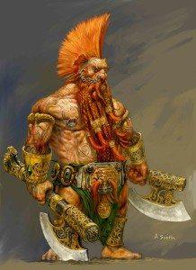 dwarf berzerker