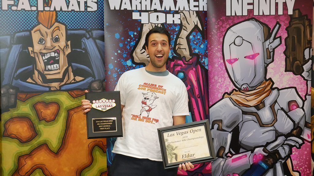 Alex Harrison, LVO 2016 40k Champion