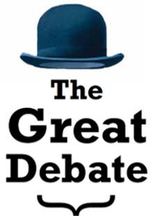 The Great Debate Serial Post Header