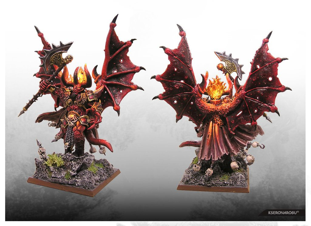 Daemon prince of knorne