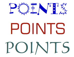 points-words
