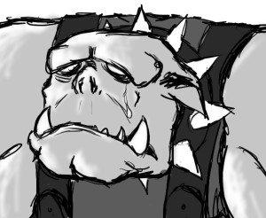 sad ork
