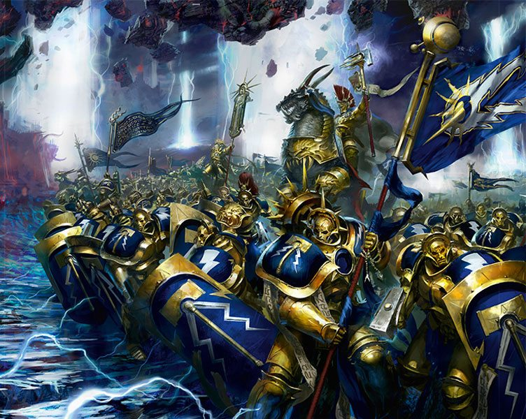 stormcast eternals go to war