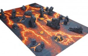 Lava Terrain Tutorial | Frontline Gaming