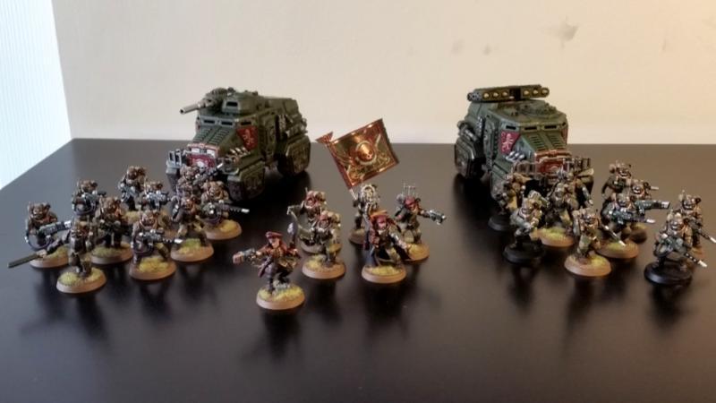 Militarum Tempestus Tactica Tempestus Scions Frontline