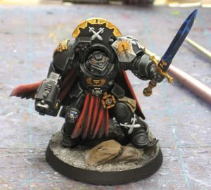 Sable Sword Terminator Captain front