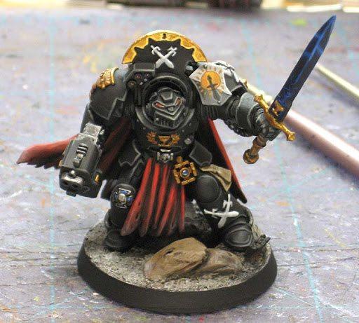 Sable Sword Terminator Captain front