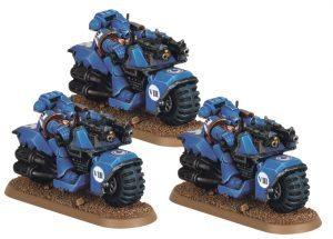 Ultramarines Bike Squad