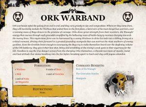 ork-formation