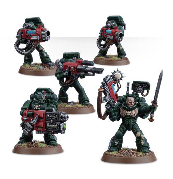 Space Marine Devastator squad Combi weapon bolter /& Arm Warhammer 40K