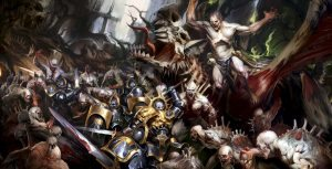 age of sigmar artwork flesheaters courts battle