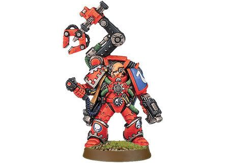 His BS5 Is Useful If You Wish To Arm Him With A Ranged Weapon Or The Servo Harness As Twin Linked Plasma Pistol Hitting On 2s Can Be Potent