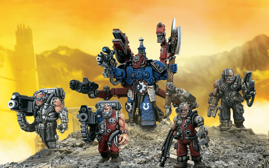 Thats About It For The Old Techmarine Hes A Solid Versatile Low Cost HQ Choice That Has Place In Wide Variety Of Space Marine Lists