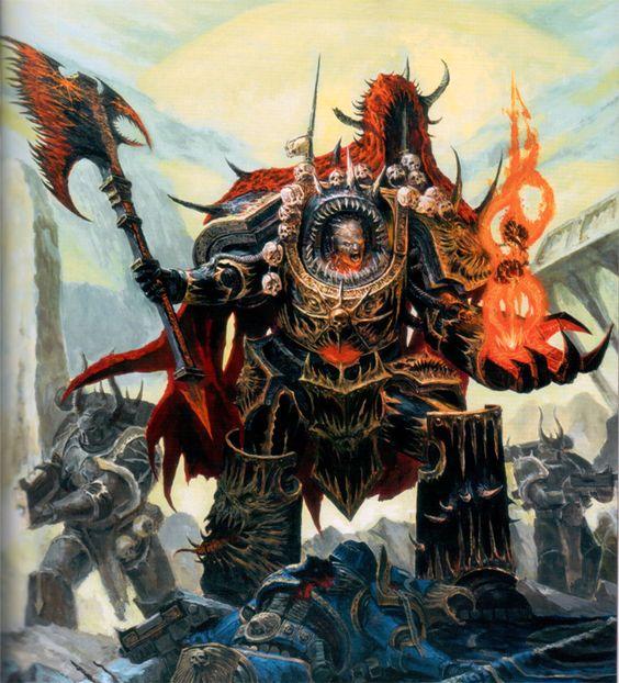 Chaos Space Marine Traitor Legions Book: Black Legion ...