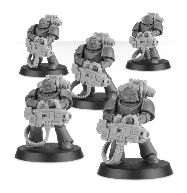 Bits 40K NEW Tactical Chaos Marines HEAVY BOLTER SET
