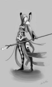 eldar_shadowseer_by_mizoro-d7w7nwe