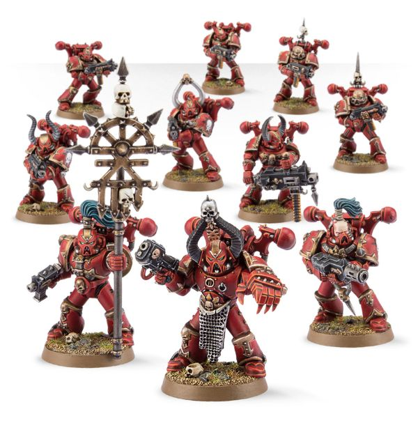 Warhammer 40k Chaos Space Marines: Chaos Space Marines Troop Review: Chaos Space Marines