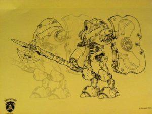 infantry art
