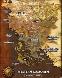map of immoren
