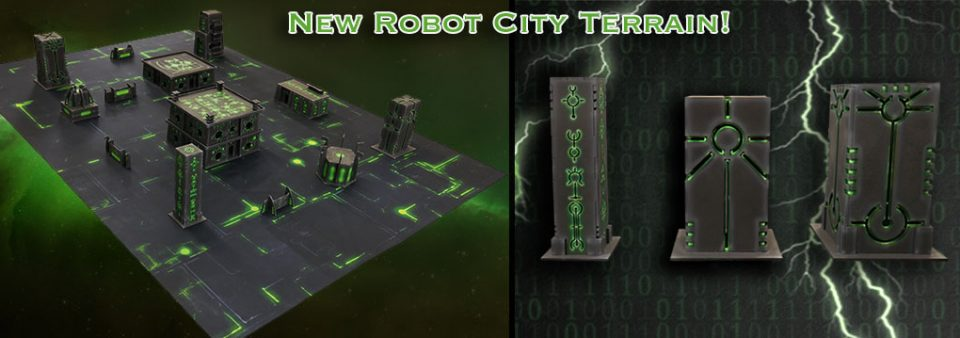 robot city terrain