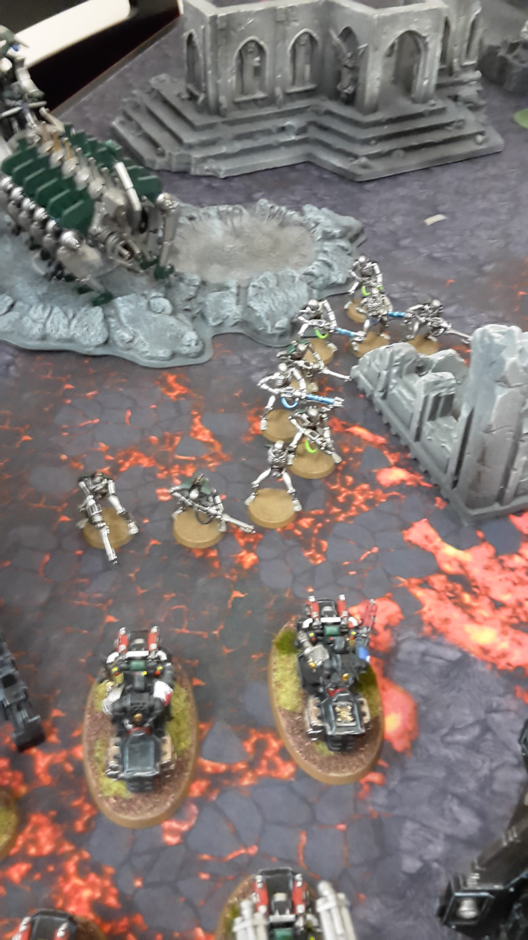 Tournament Battle Report 1- Deathwatch vs Necrons | Frontline Gaming