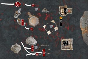 BB2-_Deathwatch_vs_KDK_Turn_1_Khorne_Daemon_Kin