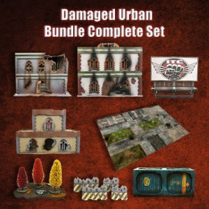 Damaged Urban Bundle Complete Set