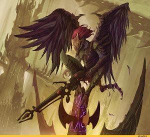 Scourge-(WH-40000)-Dark-Eldar-Warhammer-40000-фэндомы-2544938