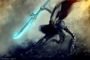 eldar_howling_banshee_exarch_by_heebster-d6td2f0