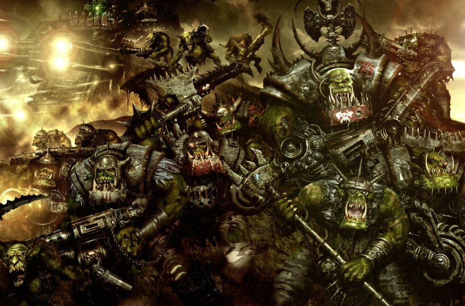 Vos rêves les plus étranges/marrants/flippants Ork_Warboss_with_Group