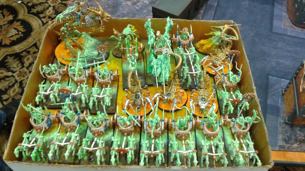 Awesome Tomb Kings army!