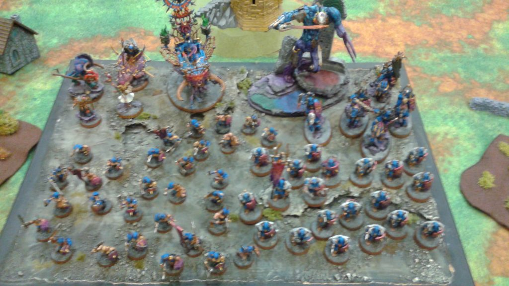 Great looking Skaven army!