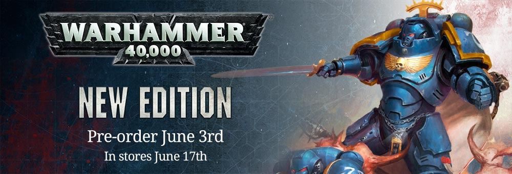 New Edition of Warhammer 40,000 Release Date Announced