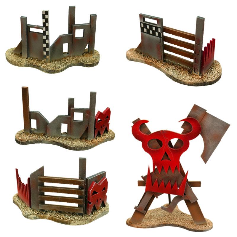 Ork Barricades 1