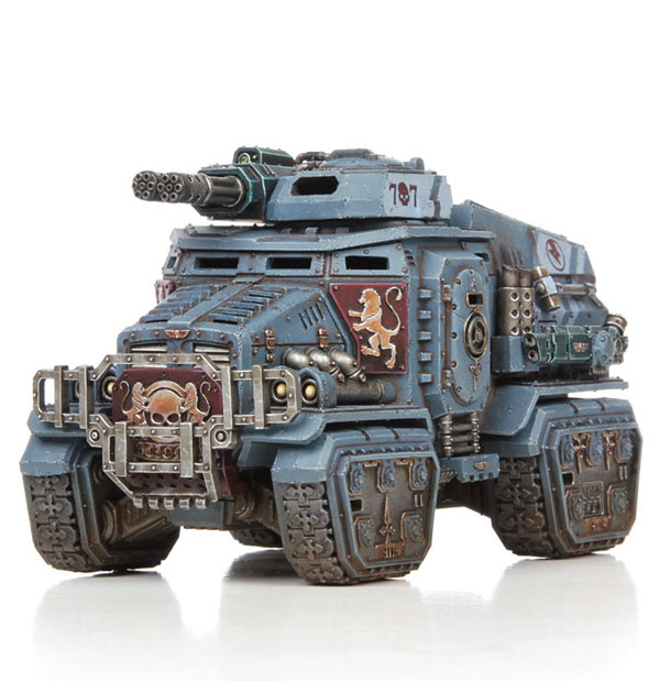 Warhammer 40K Astra Militarum Taurox Prime Tempestus