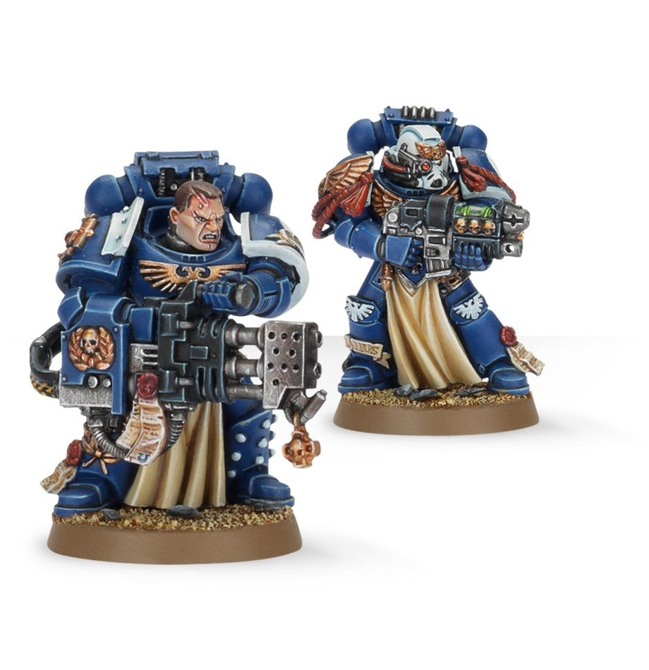 General Warhammer 40k Space Marines: Space Marine Review: Elites: Sternguard Veteran Squad
