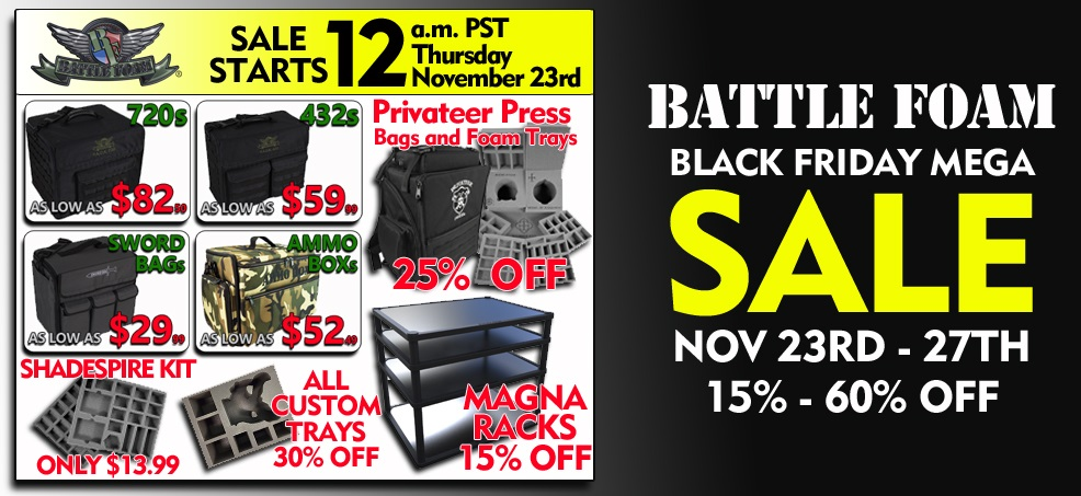 Battlefoam Black Friday – Stay tuned for black friday deals at target.