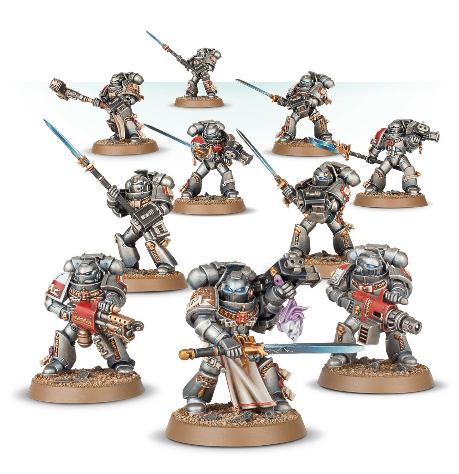 Grey Knights Power Armour psycannon-bits 40K