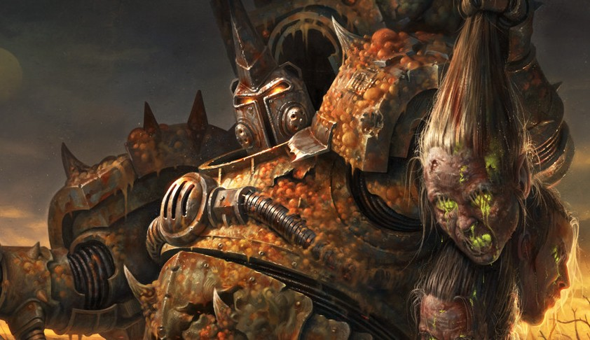Death Guard Review: HQ: Typhus | Frontline Gaming